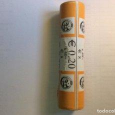 Euros: BÉLGICA 2009 ROLLO DE 20 CENTIMOS. CARTUCHO.. Lote 208879430