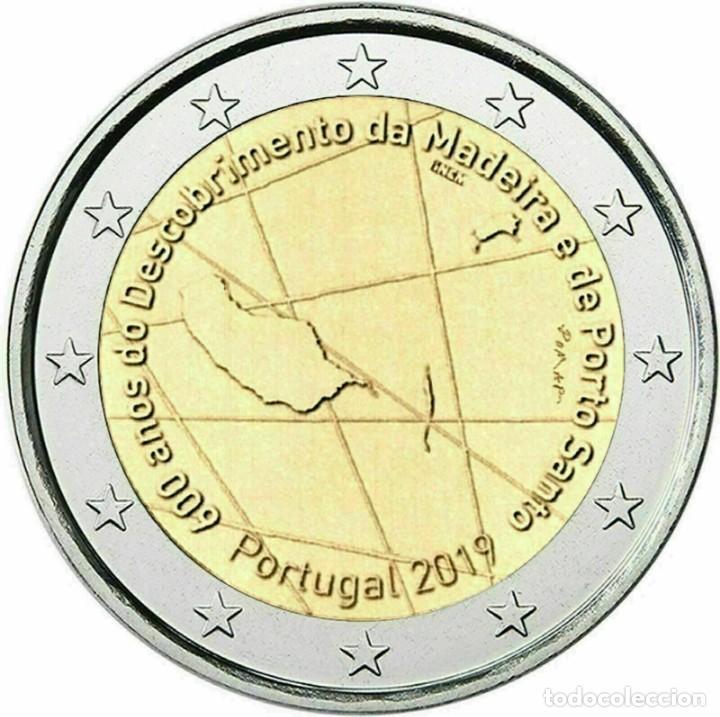 2019 PORTUGAL 600 AÑOS DEL DESCUBRIMIENTO DE LA ISLA DE MADEIRA (Numismática - España Modernas y Contemporáneas - Ecus y Euros)