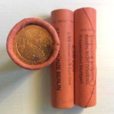 Euros: ALEMANIA 2010. ROLLO DE 5 CÉNTIMOS EUROS. CECA A. CARTUCHO. Lote 209036910