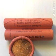 Euros: ALEMANIA 2009. ROLLO DE 5 CÉNTIMOS EUROS. CECA F. CARTUCHO. Lote 209036976