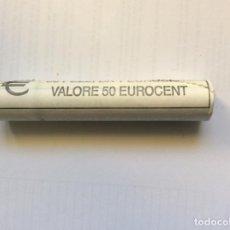 Euros: ITALIA 2003. ROLLO DE 1 CÉNTIMO EURO CARTUCHO. Lote 209037722