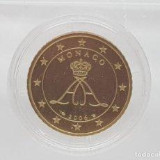 Euros: MONACO 50 CENTIMOS 2006 PROOF - DE ESTUCHE ORIGINAL PROOF - EN CAPSULA ORIGINAL. Lote 209948603