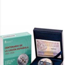 Euros: MONEDA DEL CENTENARIO DE LA LEGIÓN ESPAÑOLA 2020 (HOMENAJE A LA LEGIÓN)EDICIÓN AGOTADA. Lote 210114270