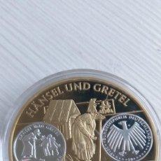 Euros: ALEMANIA: MEDALLA, HANSEL UND GRETEL, LOS CUENTOS DE HADAS DE GRIMM ( EUROPA-- EURO - CÁPSULA PROOF. Lote 210946312