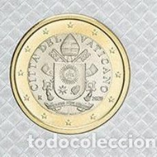 Euros: VATICANO 2020 1€ DE CARTERA OFICIAL. Lote 211668706