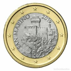 Euros: 1 EURO SAN MARINO 2018 SC. Lote 212245647