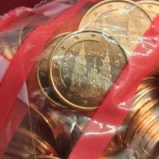Euros: ESPAÑA 5 CÉNTIMOS EURO CENT 2002 KM 1042 SC UNC. Lote 262692495