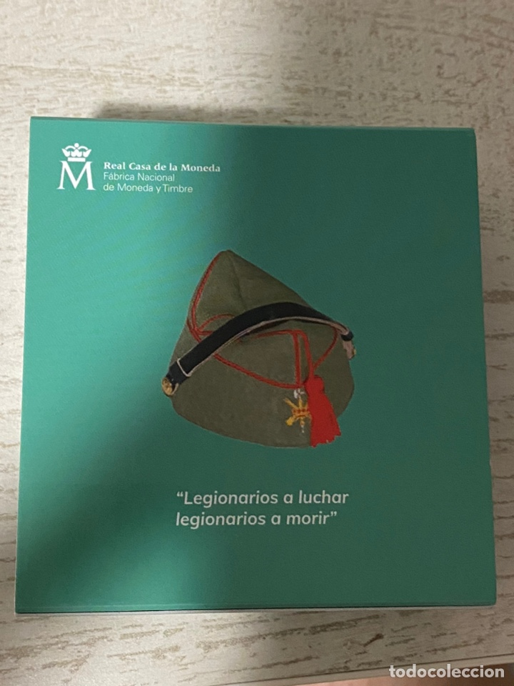 Euros: Moneda Centenario de la Legion Española - Foto 2 - 212874683