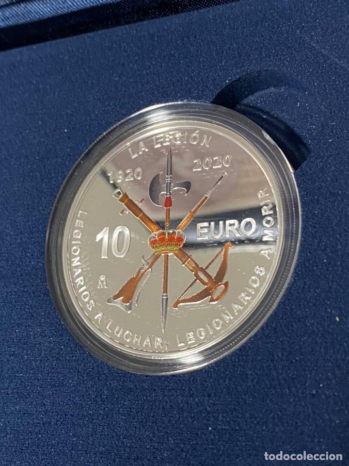 Euros: Moneda Centenario de la Legion Española - Foto 4 - 212874683