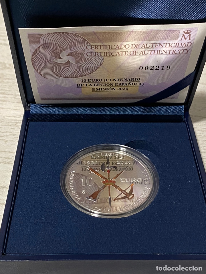 Euros: Moneda Centenario de la Legion Española - Foto 5 - 212874683
