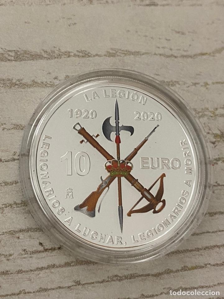 Euros: Moneda Centenario de la Legion Española - Foto 9 - 212874683