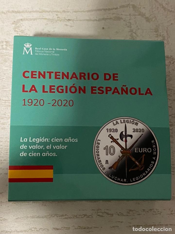 MONEDA CENTENARIO DE LA LEGION ESPAÑOLA (Numismática - España Modernas y Contemporáneas - Ecus y Euros)
