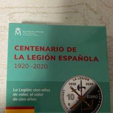 Euros: MONEDA CENTENARIO DE LA LEGION ESPAÑOLA. Lote 212874683