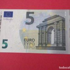Euros: BILLETE DE 5 EUROS SIN CIRCULAR. Lote 213050980