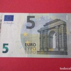 Euros: BILLETE DE 5 EUROS SIN CIRCULAR. Lote 213051335