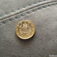 Euros: MONEDA DE 1 EURO SAN MARINO 2009 SIN CIRCULAR. Lote 273961258