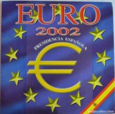 Euros: CARTERA EURO 2002 PRESIDENCIA ESPAÑOLA - MONEDAS DE 1€ - LOS PRIMEROS 12 PAÍSES - LOT. 3326. Lote 213185341