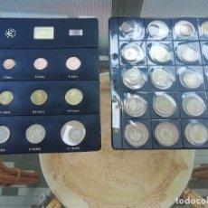 Euros: TODAS LAS MONEDAS EURO DE LOS 19 PAISES MÁS 44 CONMEMORATIVAS Y 2 EXTRAS.. Lote 213811135