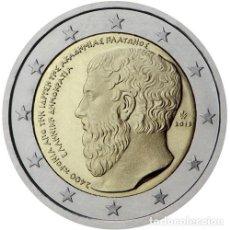 Euros: 2 EUROS CONMEMORATIVOS GRECIA 2013 (PLATÓN). Lote 234620300