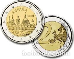 2 EUROS ESPAÑA 2013-S.C. *MONASTERIO ESCORIAL* MONEDA CONMEMORATIVA*-ENCAPSULADA- (Numismática - España Modernas y Contemporáneas - Ecus y Euros)