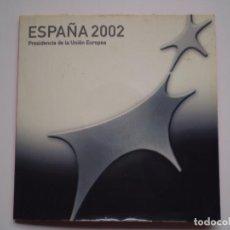 Euros: CARTERA NUMERADA 12 EUROS 2002. JUAN CARLOS Y SOFIA. PRESIDENCIA DE LA UNION EUROPEA. Lote 214513212