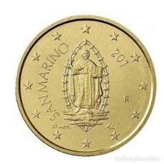 Euros: 50 CENTIMOS SAN MARINO 2018 SC. Lote 214622900