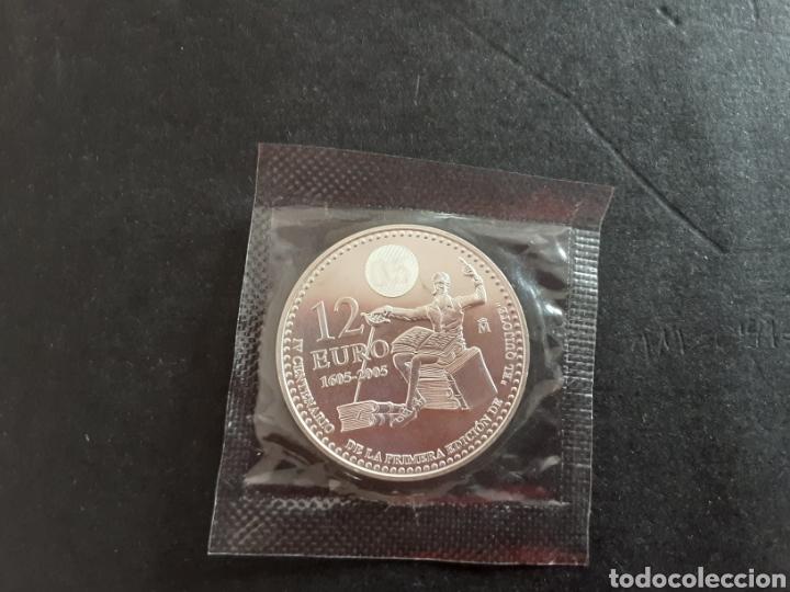 Euros: Moneda de Plata 12 Euros 2008 Juan Carlos I S/C en su bolsa original FNMT España 18 gr Plata - Foto 2 - 215146218