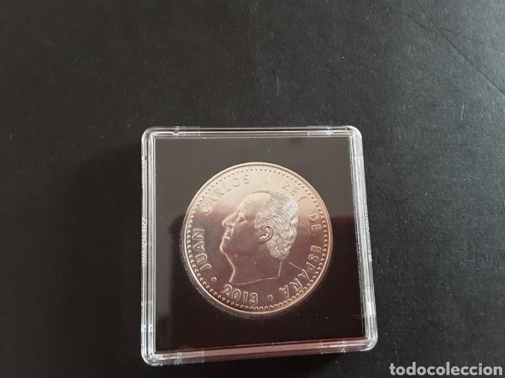 MONEDA DE PLATA 30 EUROS 2018 JUAN CARLOS I SE MANDA CON ESTUCHE 19 GR PLATA (Numismática - España Modernas y Contemporáneas - Ecus y Euros)