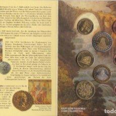 Euros: CARTERA DE EUROS DE PRUEBA DE SUIZA DEL AÑO 2003. Lote 216379693