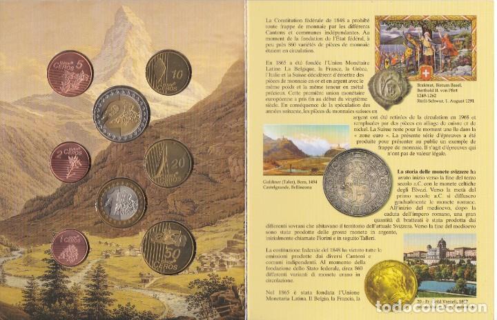 Euros: CARTERA DE EUROS DE PRUEBA DE SUIZA DEL AÑO 2003 - Foto 2 - 216379693