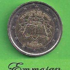 Euros: MONEDA - ESPAÑA - 2 EUROS CONMEMORATIVOS - 50 AÑOS TRATADO DE ROMA - 2007 - CIRCULADA.. Lote 216806171