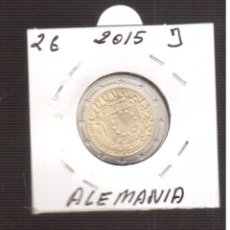 Euros: 2 € DE ALEMANIA 2015 J. Lote 219061281