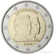 Euros: 2 EUROS CONMEMORATIVA LUXEMBURGO 2006 CUMPLEAÑOS SC. Lote 269950998