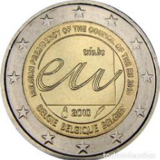 Euros: 2 EUROS CONMEMORATIVA BELGICA 2010 PRESIDENCIA SC. Lote 269950683