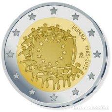 Euros: ESPAÑA MONEDA DE 2 € CONMEMORATIVA DE LAS BANDERAS AÑO 2015 , SIN CIRCULAR. Lote 219915840