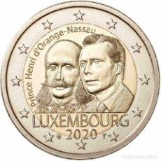 Euros: 2 EUROS CONMEMORATIVA LUXEMBURGO 2020 NACIMIENTO HENRY SC. Lote 220106801