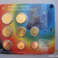 Euros: CARTERA EUROS ESPAÑA 2002 ... Lote 220227166