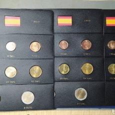 Euros: LOTE TRES COLECCIONES EUROS DE ESPAÑA, 1999 , 2000 , 2001 , FLOR DE CUÑO.. Lote 221337865