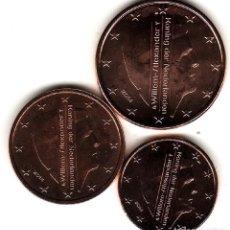 Euro: TRIO 1 2 5 CENTIMOS HOLANDA 2014 SC. Lote 221601461