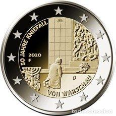 Euros: ALEMANIA 2 EUROS 2020 50 ANIVERSARIO DE LA GENUFLEXIÓN DE VARSOVIA D. Lote 230954810