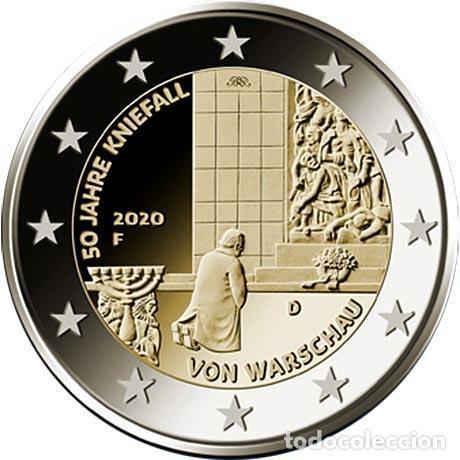 ALEMANIA 2 EUROS 2020 50 ANIVERSARIO DE LA GENUFLEXIÓN DE VARSOVIA F (Numismática - España Modernas y Contemporáneas - Ecus y Euros)