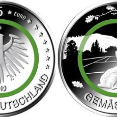 Euros: ALEMANIA 5 EUROS 2019 SERIE ZONA CLIMÁTICA ( ZONA TEMPLADA ) LA CECA PUEDE VARIAR. Lote 269995273