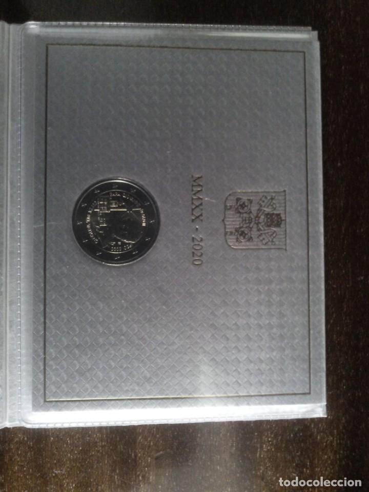 2 EUROS VATICANO 2020 CENTENARIO DEL NACIMIENTO DE JUAN PABLO II (Numismática - España Modernas y Contemporáneas - Ecus y Euros)