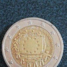 Euros: 2 EURO ALEMANIA 2015 A CONMEMORATIVA 30 ANIVERSARIO - BANDERA DE LA UNIÓN EUROPEA. Lote 221879657