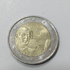 Euros: M-147 MONEDA 2 EUROS FRANCIA 2010. CIRCULADA. Lote 222085225
