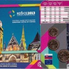 Euros: EUROS ESLOVAQUIA EMISIÓN OFICIAL (EURO SET) 2013. SIN CIRCULAR.. Lote 222346792