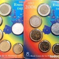 Euros: BLISTER EUROS ESPAÑA 2006 PUENTE. EMISIÓN OFICIAL (EURO SET).. Lote 222348098