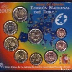 Euros: BLISTER EUROS ESPAÑA 2009 EMISIÓN OFICIAL (EURO SET).. Lote 222348367