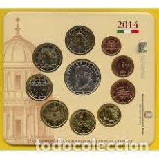 Euros: CARTERA EUROS ITALIA 2014. EMISIÓN OFICIAL (EURO SET).. Lote 222350072