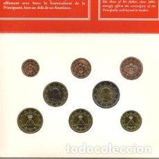 Euros: CARTERA DE EUROS DE MÓNACO DE 2009. EURO SET. EMISIÓN OFICIAL. Lote 222351816